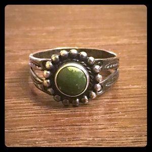 Sterling Vintage Southwestern Ring